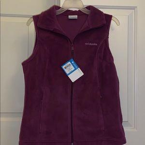 NWT Women's Columbia Fleece Vest